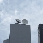 6.2-mtr C-band High Wind Antennas in Hong Kong