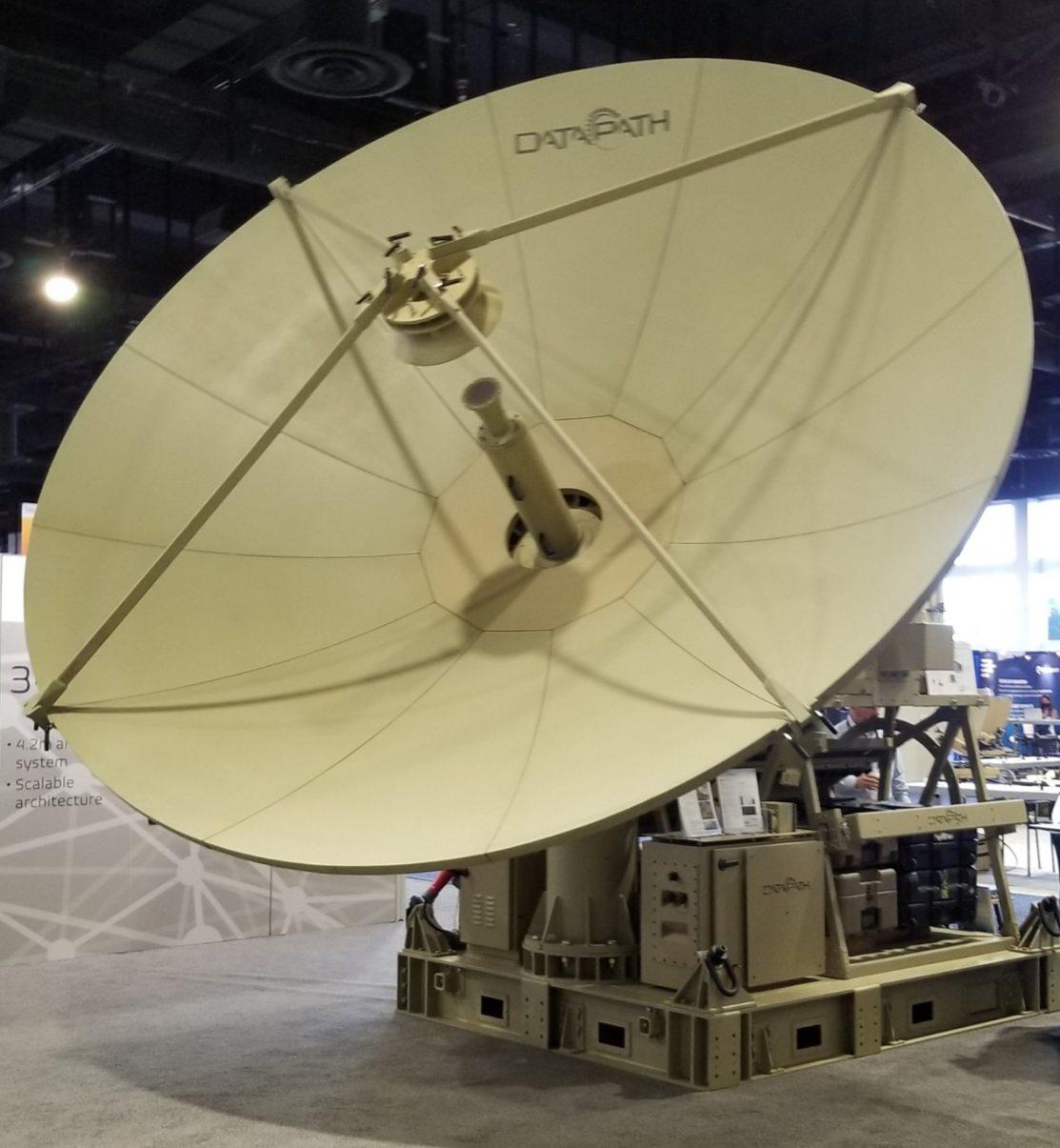 4.2-mtr, Gregorian, Carbon Fiber, Lo-PIM antenna system